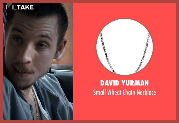 David Yurman silver necklace from Southpaw seen with Beau Knapp (Jon Jon)