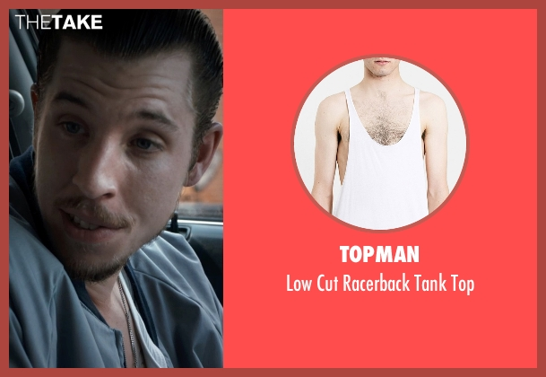 Topman white top from Southpaw seen with Beau Knapp (Jon Jon)