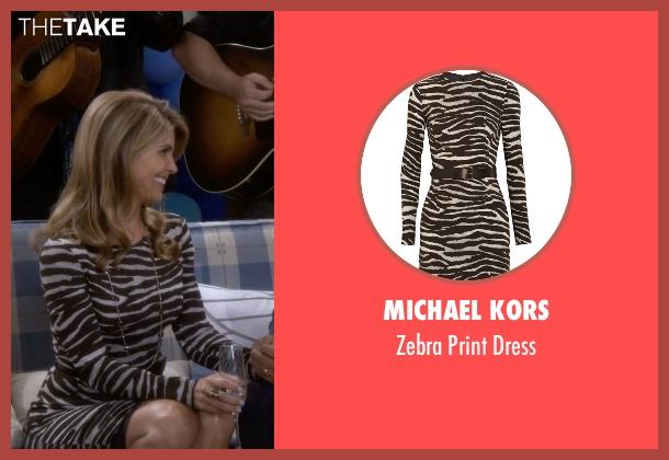 Michael Kors dress from Fuller House seen with Becky Katsopolis (Lori Loughlin)