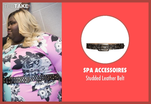 SPA Accessoires black belt from Empire seen with Becky Williams (Gabourey Sidibe)
