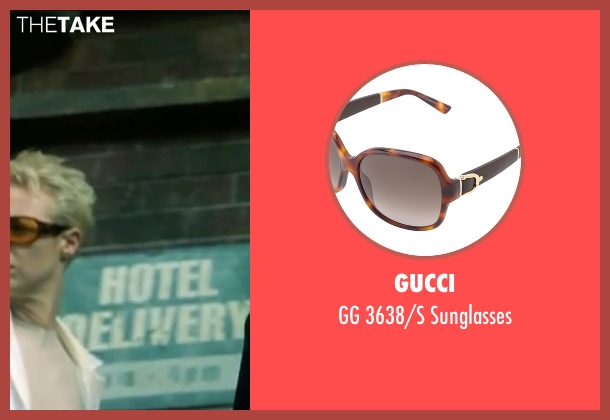 Gucci brown sunglasses from The Matrix seen with Belinda McClory (Switch)