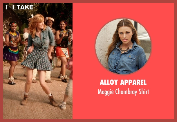 Alloy Apparel shirt from Blended seen with Bella Thorne (Hilary Friedman)