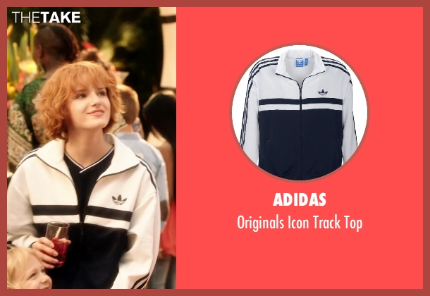 Adidas white top from Blended seen with Bella Thorne (Hilary Friedman)