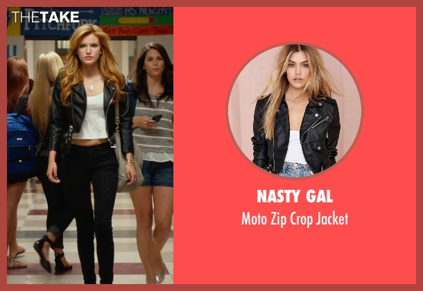 Nasty Gal black jacket from The DUFF seen with Bella Thorne (Madison)
