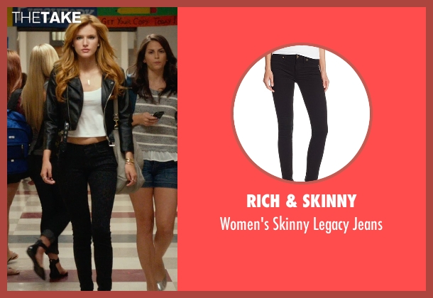 Rich & Skinny black jeans from The DUFF seen with Bella Thorne (Madison)