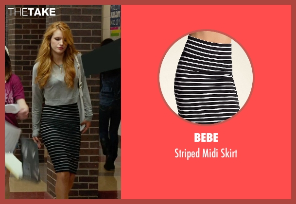 Bebe black skirt from The DUFF seen with Bella Thorne (Madison)