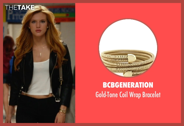 BCBGeneration gold bracelet from The DUFF seen with Bella Thorne (Madison)
