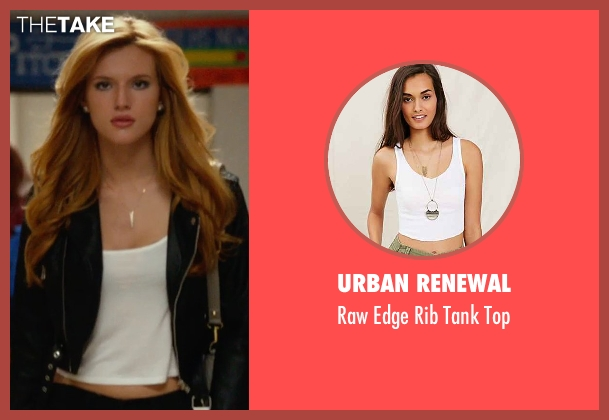 Urban Renewal white top from The DUFF seen with Bella Thorne (Madison)