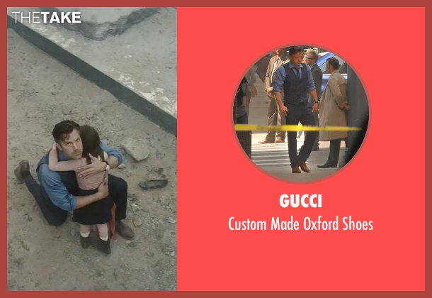 Gucci brown shoes from Batman v Superman: Dawn of Justice seen with Ben Affleck (Bruce Wayne / Batman)