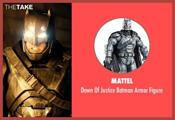 Mattel figure from Batman v Superman: Dawn of Justice seen with Ben Affleck (Bruce Wayne / Batman)