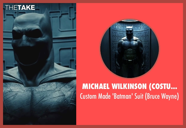 Michael Wilkinson (Costume Designer) suit from Batman v Superman: Dawn of Justice seen with Ben Affleck (Bruce Wayne / Batman)