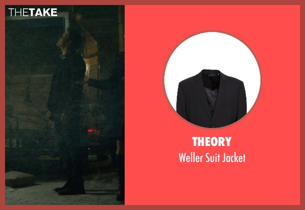 Theory black jacket from Gone Girl seen with Ben Affleck (Nick Dunne)