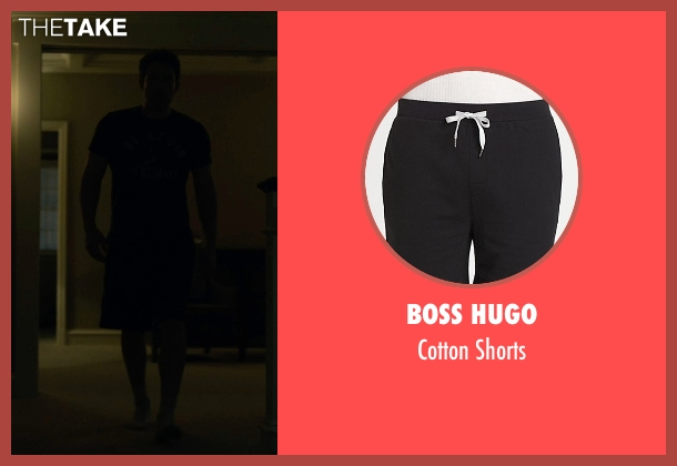 Boss Hugo black shorts from Gone Girl seen with Ben Affleck (Nick Dunne)