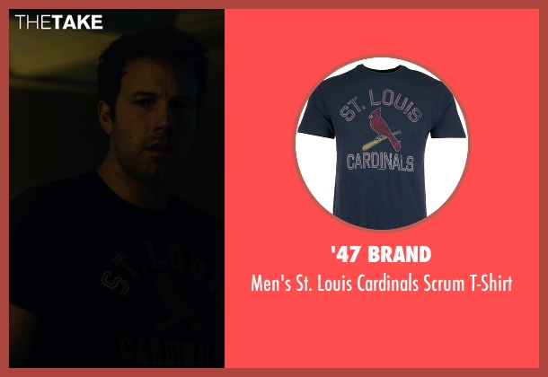 '47 Brand blue t-shirt from Gone Girl seen with Ben Affleck (Nick Dunne)