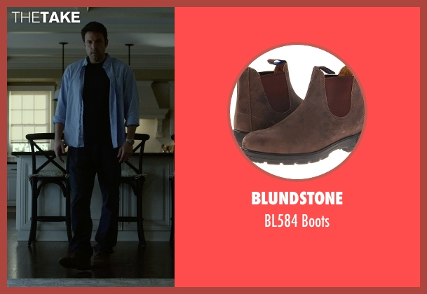 Blundstone brown boots from Gone Girl seen with Ben Affleck (Nick Dunne)