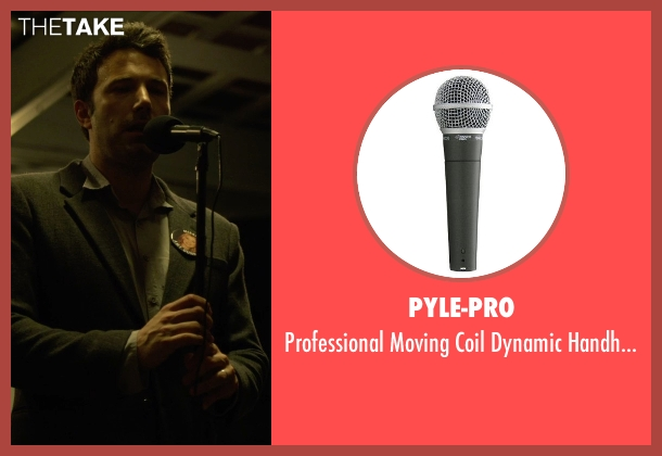 Pyle-Pro microphone from Gone Girl seen with Ben Affleck (Nick Dunne)