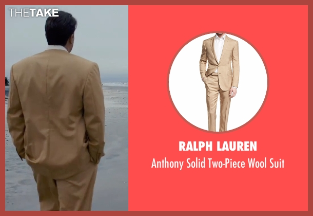 Ralph Lauren beige suit from Live By Night seen with Ben Affleck (Joe Coughlin)