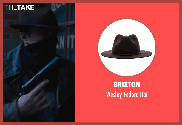Brixton brown hat from Live By Night seen with Ben Affleck (Joe Coughlin)