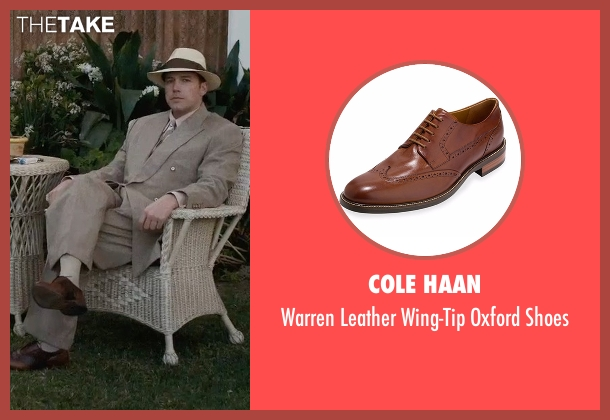 Cole Haan brown shoes from Live By Night seen with Ben Affleck (Joe Coughlin)