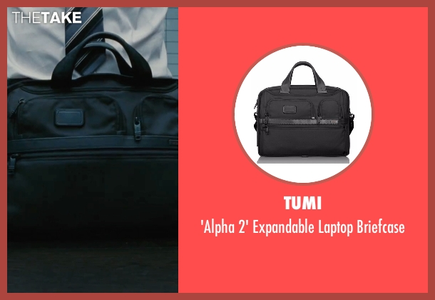 Tumi black briefcase from The Accountant seen with Ben Affleck (Christian Wolff)
