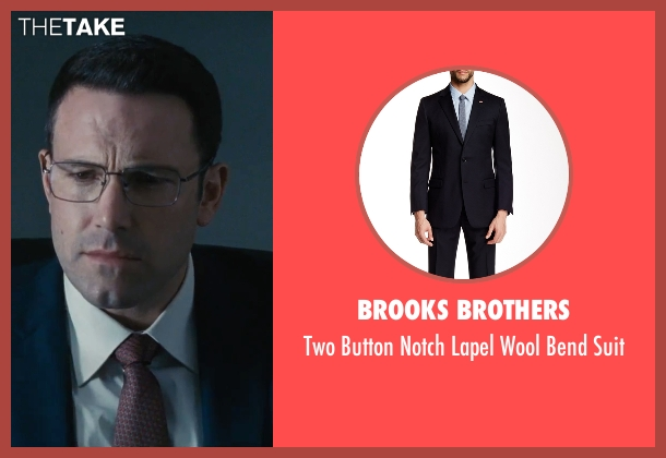 Brooks Brothers blue suit from The Accountant seen with Ben Affleck (Christian Wolff)