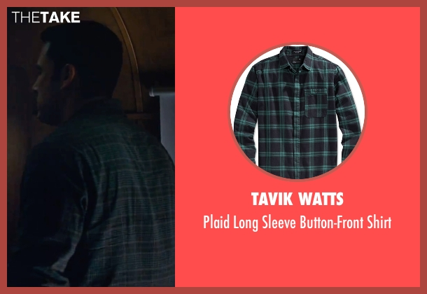 Tavik Watts green shirt from The Accountant seen with Ben Affleck (Christian Wolff)