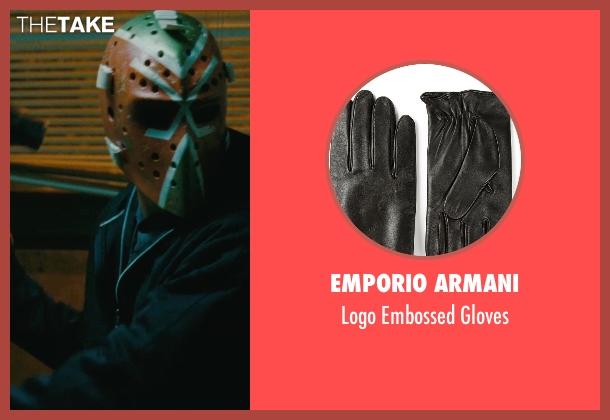 Emporio Armani black gloves from The Town seen with Ben Affleck (Doug MacRay)