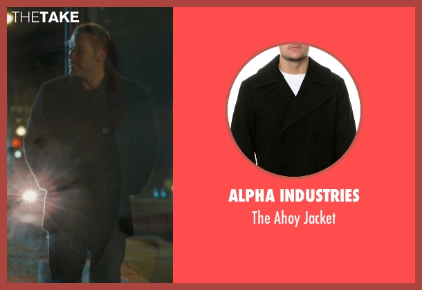 Alpha Industries black jacket from The Town seen with Ben Affleck (Doug MacRay)