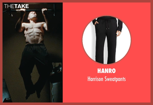 Hanro black sweatpants from The Town seen with Ben Affleck (Doug MacRay)