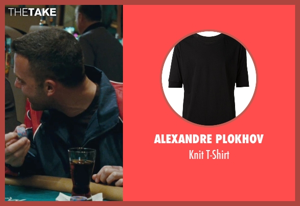 Alexandre Plokhov black t-shirt from The Town seen with Ben Affleck (Doug MacRay)