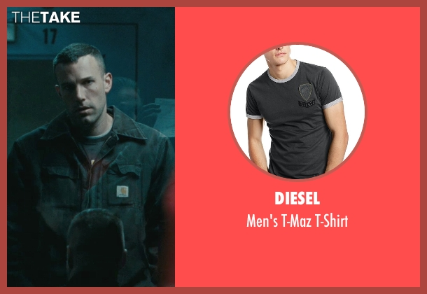 Diesel black t-shirt from The Town seen with Ben Affleck (Doug MacRay)