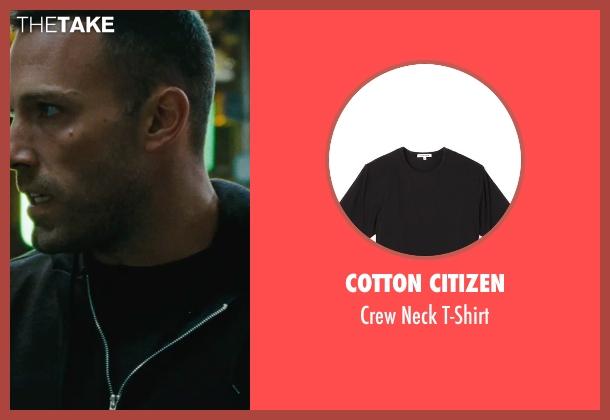 Cotton Citizen black t-shirt from The Town seen with Ben Affleck (Doug MacRay)