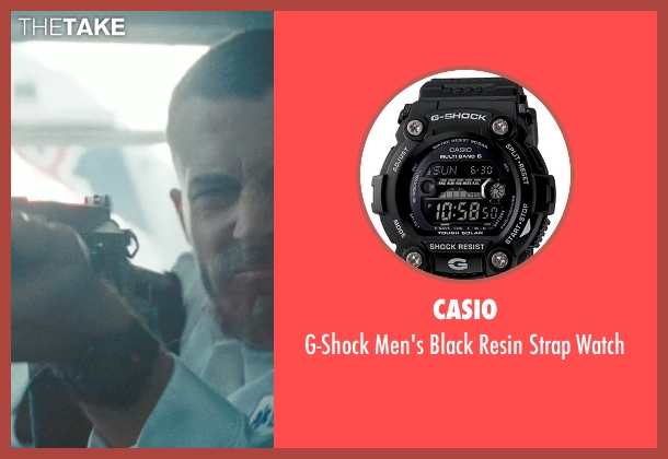 Casio black watch from The Town seen with Ben Affleck (Doug MacRay)