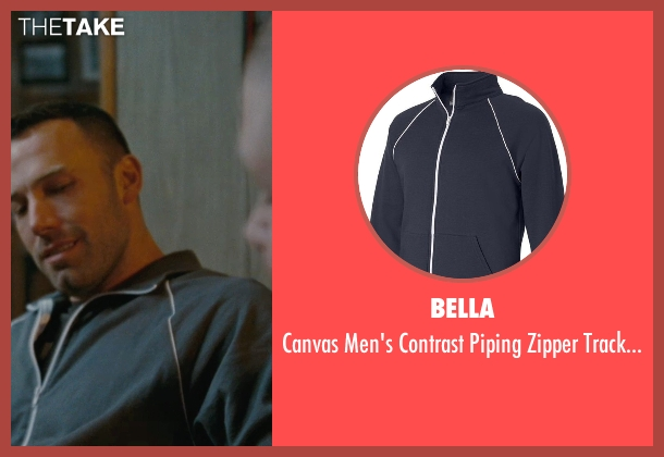 Bella blue jacket from The Town seen with Ben Affleck (Doug MacRay)