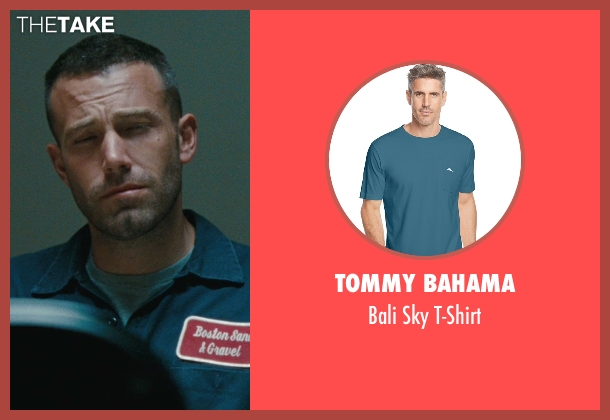 Tommy Bahama blue t-shirt from The Town seen with Ben Affleck (Doug MacRay)