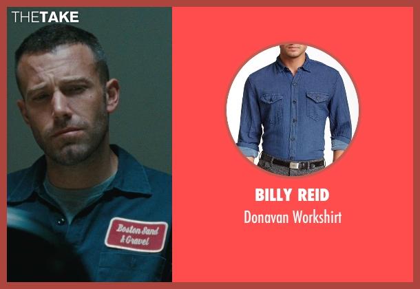 Billy Reid blue workshirt from The Town seen with Ben Affleck (Doug MacRay)
