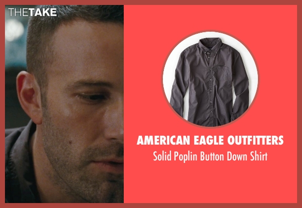 American Eagle Outfitters gray shirt from The Town seen with Ben Affleck (Doug MacRay)