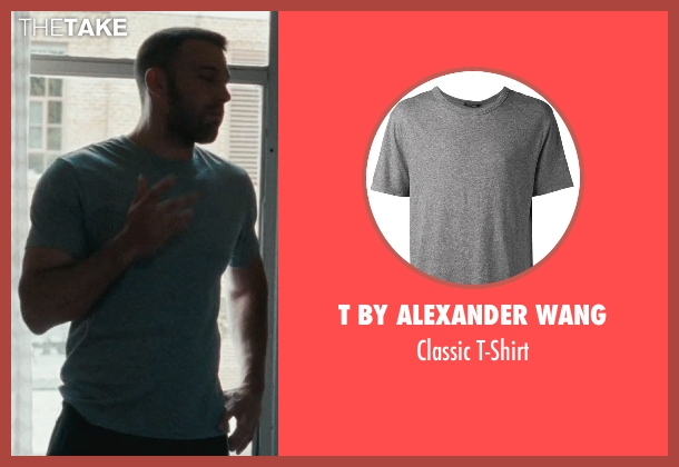 T By Alexander Wang gray t-shirt from The Town seen with Ben Affleck (Doug MacRay)