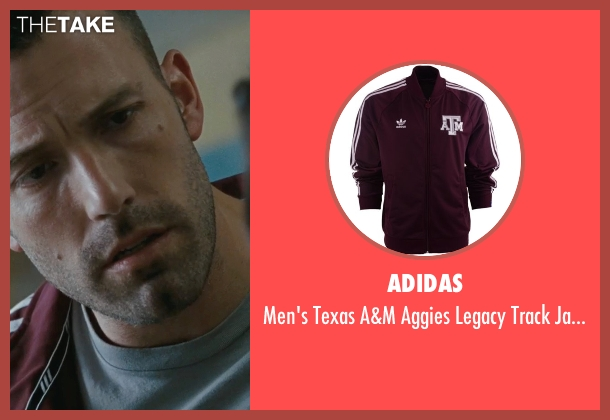 Adidas jacket from The Town seen with Ben Affleck (Doug MacRay)