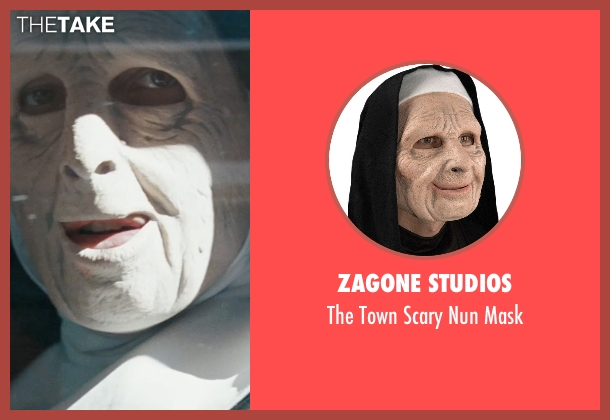 Zagone Studios mask from The Town seen with Ben Affleck (Doug MacRay)