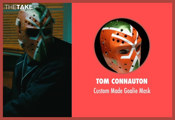 Tom Connauton mask from The Town seen with Ben Affleck (Doug MacRay)