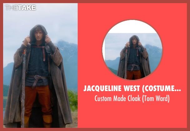 Jacqueline West (Costume Designer) cloak from Seventh Son seen with Ben Barnes (Tom Ward)