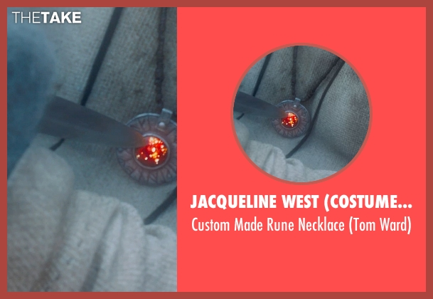 Jacqueline West (Costume Designer) necklace from Seventh Son seen with Ben Barnes (Tom Ward)