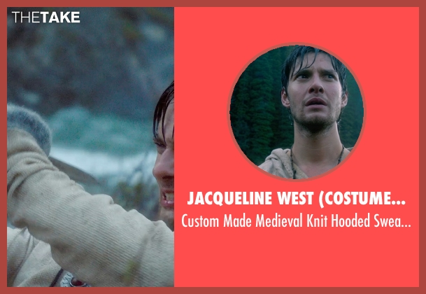 Jacqueline West (Costume Designer) sweater from Seventh Son seen with Ben Barnes (Tom Ward)