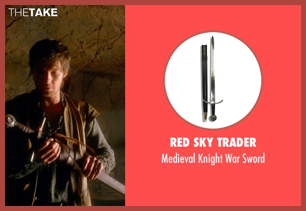 Red Sky Trader sword from Seventh Son seen with Ben Barnes (Tom Ward)
