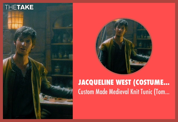 Jacqueline West (Costume Designer) tunic from Seventh Son seen with Ben Barnes (Tom Ward)
