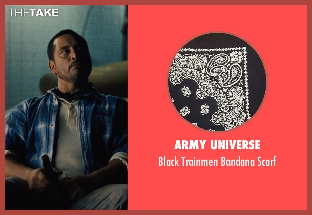 Army Universe black scarf from McFarland, USA seen with Ben Bray (Ernesto Valles)