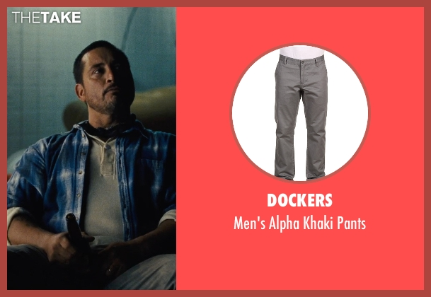 Dockers gray pants from McFarland, USA seen with Ben Bray (Ernesto Valles)