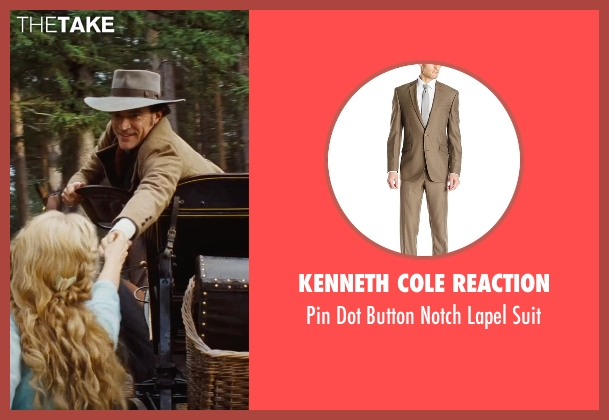 Kenneth Cole Reaction brown suit from Cinderella seen with Ben Chaplin (Cinderella's Father)