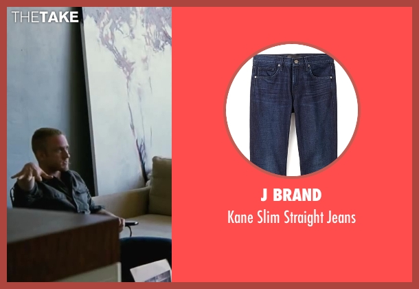 J Brand blue jeans from Contraband seen with Ben Foster (Sebastian Abney)